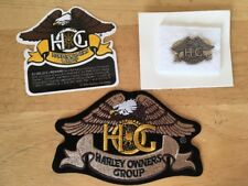 Harley Davidson Brass (H.O.G.) Hog Owners Group Vest, Hat, Pin & Patch NEW LOT