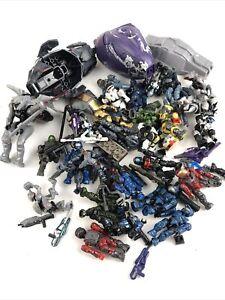 Halo Mega Bloks Blocks Minifigures Figures Lot