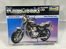 Vintage 1981 Revell Kawasaki KZ-1000 LTD Model 1/12 Scale 7801