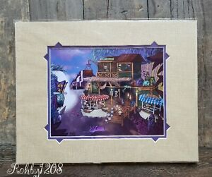 Disney Wonderground The World Famous Jungle Cruise Deluxe Print DJ Clulow 18x14
