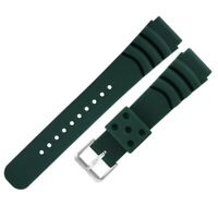 Multicolor 20/22mm Rubber Watch Band Diver Waterproof Strap Spring Bar Bangle