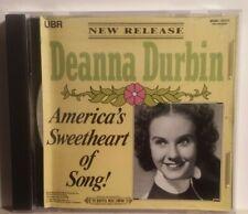 CD Deanna Durbin Americas' Sweetheart of Song 19971 MCA *