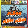 3 Stickers autocollant KTM racing sponsor moto tuning motorsport rally decal