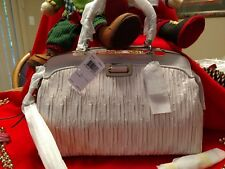 ~NWT Coach Madison Parchment White Gathered Leather Andie Satchel Handbag 30085