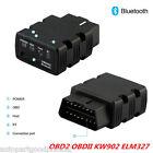 Kw902 Obdll Obd2 Elm327 Bluetooth Car Auto Diagnostic Tool Code Scanner Adapter