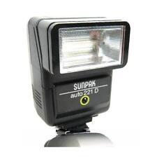 Sunpak 144 266 2000 Flash Minolta X370 X700 XG1 XGM XE Pentax K1000 Canon AE1