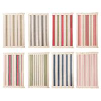 IKEA Signe RUG 100% Cotton FLOOR RUNNER Mat Flatwoven Navy Grey Red Green Brown