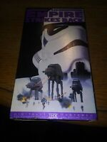 VHS STAR WARS, THE EMPIRE STRIKES BACK 1995 20th Century Fox Release, Rare Very
