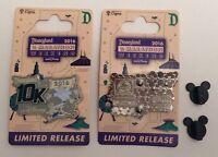 Run Disney Disneyland 10K 2016 RunDisney Pin Genie & Aladdin Limited Release