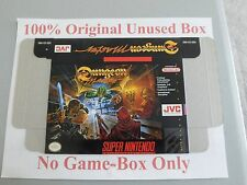 Dungeon Master, 100% Original Unused Box Only, SNES, Super Nintendo, Very Rare