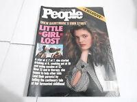 JAN 16 1989 PEOPLE magazine (NO LABEL) UNREAD -  DREW BARRYMORE