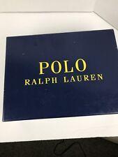 Men's Ralph Lauren Black On Black Polo Boots Size 9