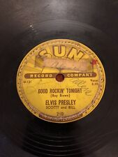 Elvis Presley Good Rockin' Tonight I Don't Care If The Sun Don't Shine 78 1954