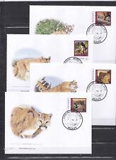 Canouan 2012 - FDC - Dieren / Animals (Leeuwen/Lions) -  WWF/WNF
