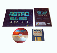 New Astro Blox Revisted Amiga Game Collector Box CD + Floppy Disk + Poster