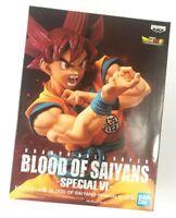 Banpresto DBZ Dragon Ball Z Blood of Saiyans Special VI SSSGG God Goku Figure