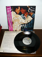 """BOWIE AND MICK JAGGER  LP 12"""" SINGLE DANCING IN THE STREET (ST.THOMPSON )  JAPAN"""