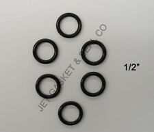 "6 PIECES PRESSURE WASHER O-RING KIT QUICK DISCONNECT 1/2"" ID HOT WATER EPDM"
