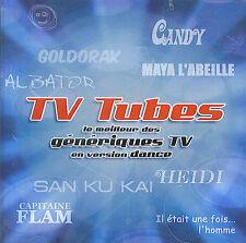 TV Tubes : Génériques TV en version dance (CD)