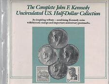 JFK Uncirculated US Half Dollar Collection FDC