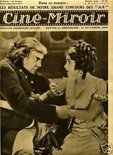 CINE-MIROIR n°205.1929. EMIL JANNINGS. FLORENCE VIDOR.
