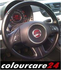 Kit Rigenera Colore Volante tonico Pelle Fiat 500 Pop Star NERO Ritocco Interni