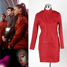 Star Trek 2009 Movie Uhura's cadet Uniform Costume *Tailored*