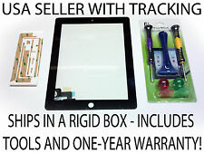BLACK OEM REPLACEMENT APPLE iPAD 2 LCD GLASS TOUCH SCREEN DIGITIZER TOOLS REPAIR