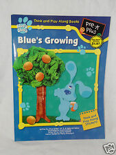 NEW BLUES CLUES THINK AND PLAY ACTIVITY BOOK BLUE'S GROWING WITH STICKERS
