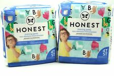 The Honest Company Toddler Training Pants Animal ABCs Size 4T-5T 2 Pack of 19