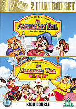 An American Tail / American Tail 2 - Fievel Goes West (DVD, 2006, 2-Disc Set)