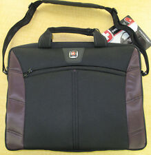 New Swiss Gear By Wenger 'Sherpa' Computer Slimcase - Black/Plum