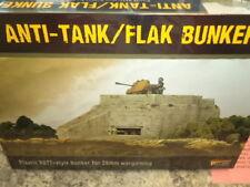 Anti-Tank Flak Bunker Terrain Scenery Bolt Action WW II Model Warlord Games New!