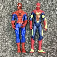 LOT 2 New Marvel Legends Spider-man 3.75'' action figures Glow in the dark Toys
