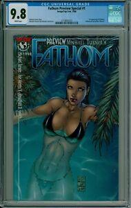 Fathom Preview Special 1 CGC 9.8 1st Appearance 1998 CBCS @Guardian_Comics