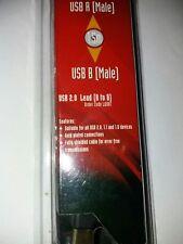 N81HH Nikkai Pure Connectivité USB 2.0 A Mâle Vers Micro B Mâle 1.5 m