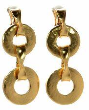 Oscar De La Renta Clip-on Earrings