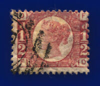1878 SG49 ½d Rose Plate 15 G4 FD Fair Used Cat £50 criy