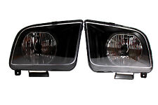 05-09 Ford Mustang Black Housing Headlights SVT V6 V8 Convertable Seleen Cobra