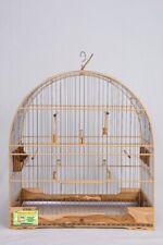 CAGE WOOD BIRDS CANARY CURIO GO