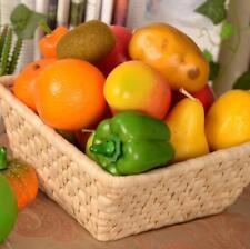 Lifelike Decorative Artificial Plastic Fruit Vegetables Home Centerpieces - Pick