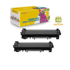 TN-770 2Pcs Compatible Toner TN770 With CHIP for Brother HL-L2370DWXL Printer