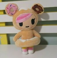Tokidoki Designer Kawaii Cute Donutella  Plush Soft Toy Doll 8""