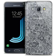 Crystal case for galaxy j5 2016 j510 extra slim rigid lace texture