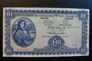 Ireland 10 Pound 1960 Crisp