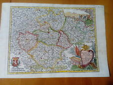 BÖHMEN:  REPUBBLICA CECA CZECH REPUBLIC Seutter 1744