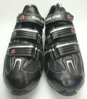 PEARL IZUMI All  ROAD  MEN'S CYCLING SHOES SIZE 41 BLACK US 8