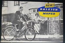 Catalogue Raleigh (ADM4) - Mobylette - Moped - Prospekt - Brochure ( A01)