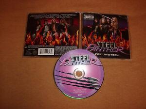 Steel Panther Feel the steel 2009 Glam Hair Metal Poison Ratt Guns n Roses Kiss
