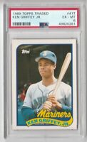 1989 Topps Traded #41t Ken Grffey Jr. Rookie PSA 6 RC Mariners